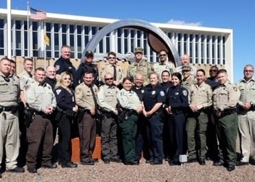 Twenty five law enforcement officers graduated February 14, 2020 for a two-week D.A.R.E. training co
