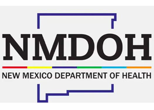 New Mexico Department of Health Logo State outline with text